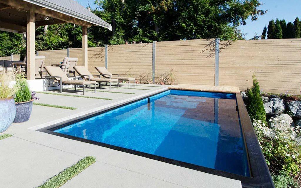fotos piscinas en contenedores que se instalan en pocos
