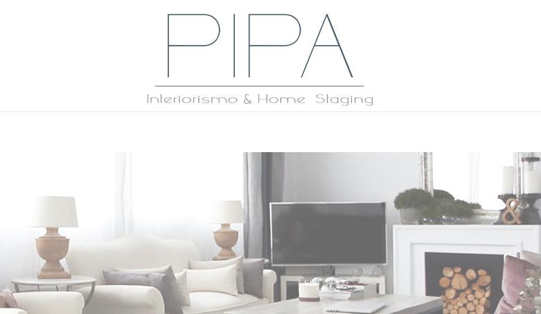 PIPA decoración interiorismo vender alquilar pisos rápido