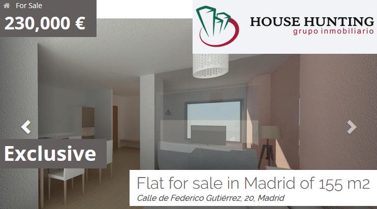 vender mi piso rápido alquilar alquiler 155 m2 230.000 euros House Hunting