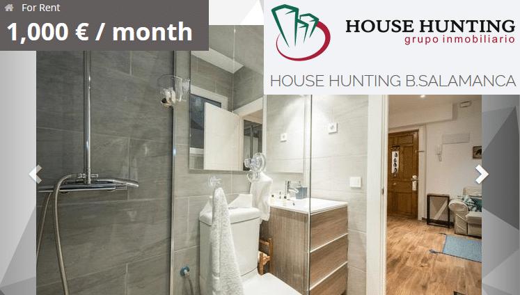Vender piso rápido barrio de Salamanca casa reformada inmobiliaria House Hunting
