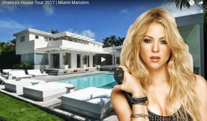 Shakira chalet de lujo casa Miami 10 millones euros vende