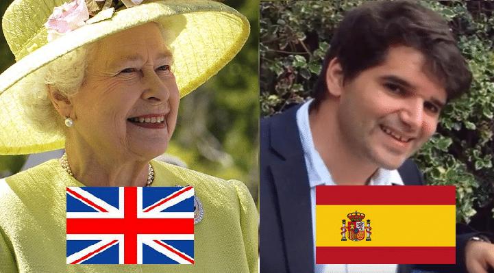Ignacio Echeverría Reina de Inglaterra Isabel II