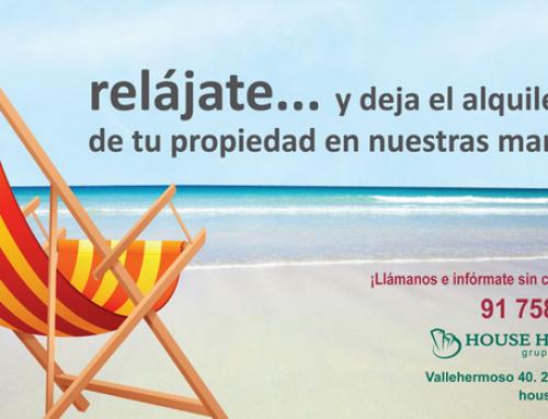 Llegan las vacaciones: Nosotros alquilamos tu casa en menos de 30 días