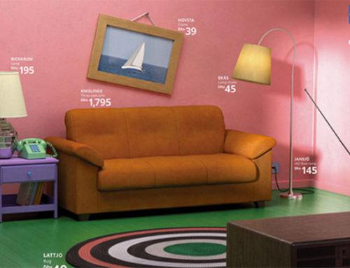 Ikea decora los salones como los de las series