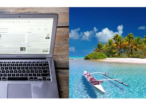 Alquiler, limpieza, teletrabajo y playa paradisíaca, por 850 € al mes